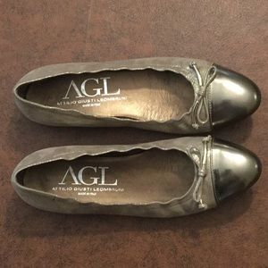 AGL ballet flats, size 40 (usually a 9), like new